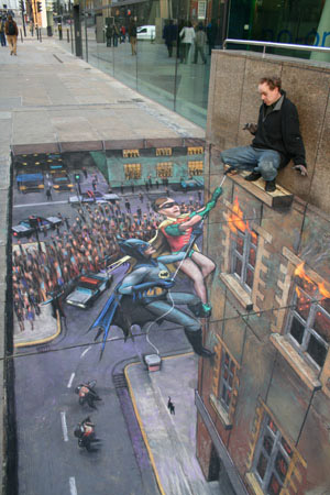 Coolest 3D Street Art 17