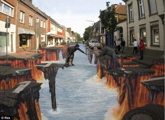 Coolest 3D Street Art 18
