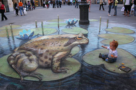 Coolest 3D Street Art 3