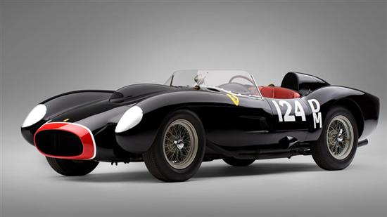 1957 Ferrari 250 Testa Rossa black Most Expensive Cars Ever as seen on CoolWeirdo.com