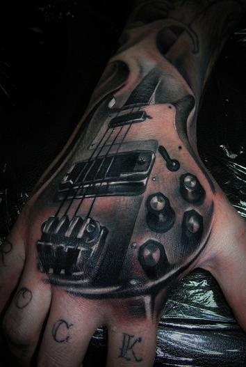3d tattoo music