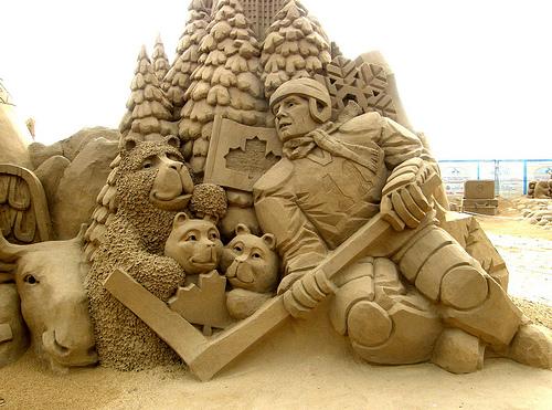 Amazinng sand sculptures 10