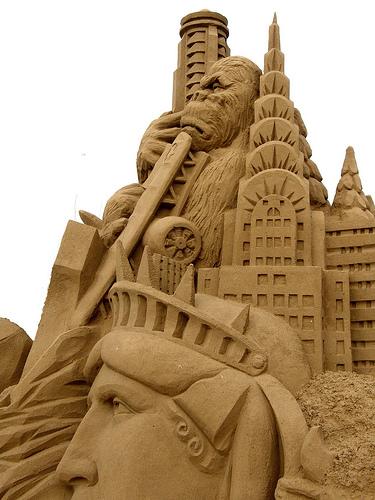 Amazinng sand sculptures 11