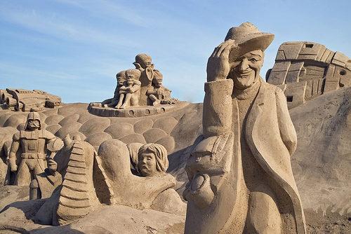 Amazinng sand sculptures 20