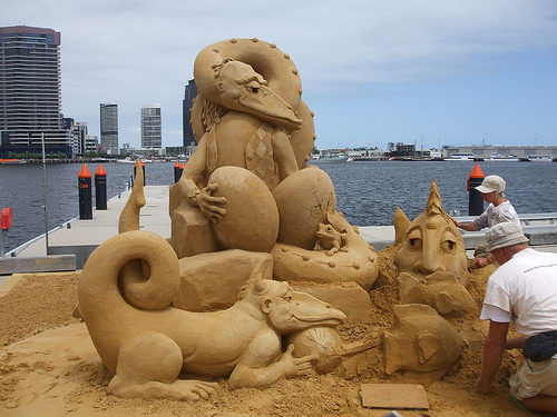 Amazinng sand sculptures 21