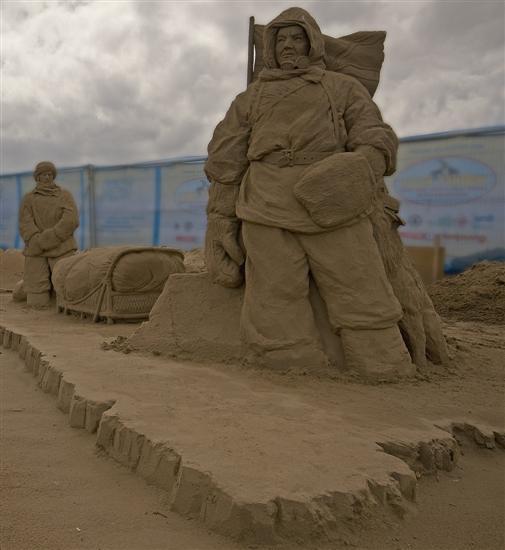 Amazinng sand sculptures 4