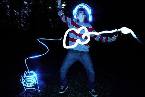 Coolest Light Painting 1 Coolest Light Painting as seen on CoolWeirdo.com