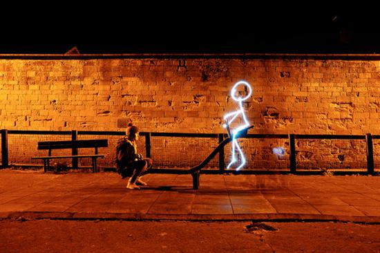 Coolest Light Painting 15 Coolest Light Painting as seen on CoolWeirdo.com