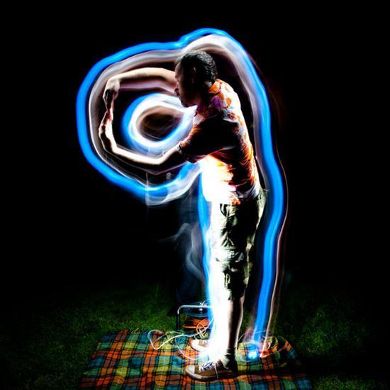 Coolest Light Painting 19 Coolest Light Painting as seen on CoolWeirdo.com