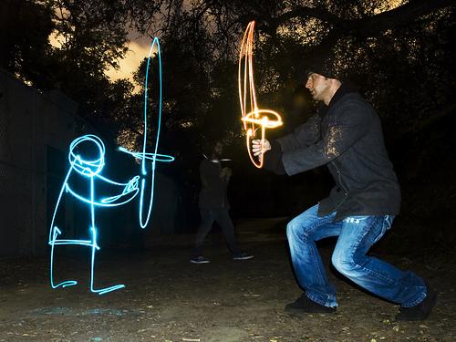 Coolest Light Painting 22 Coolest Light Painting as seen on CoolWeirdo.com