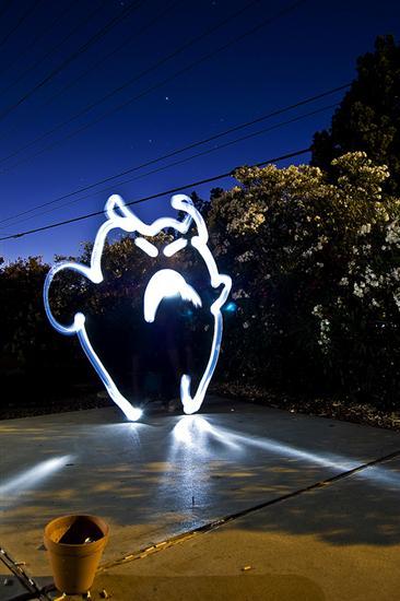 Coolest Light Painting 24 Coolest Light Painting as seen on CoolWeirdo.com