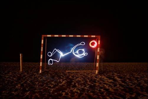 Coolest Light Painting 7 Coolest Light Painting as seen on CoolWeirdo.com