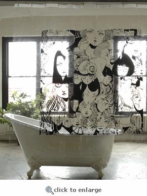 cool shower curtain Coolest Bath Curtains as seen on CoolWeirdo.com