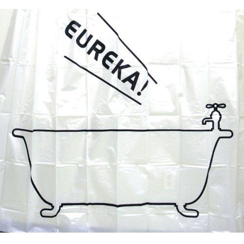eureka shower curtain Coolest Bath Curtains as seen on CoolWeirdo.com