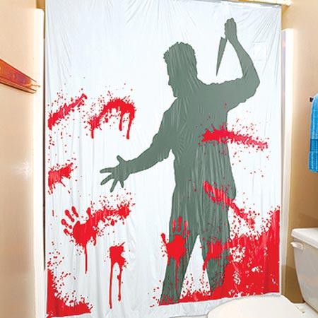 killer bah curtain Coolest Bath Curtains as seen on CoolWeirdo.com