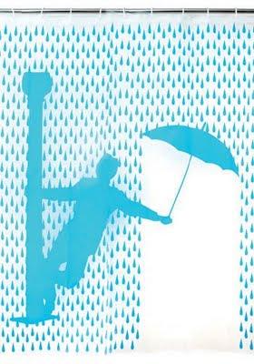 umbrella shower curtain Coolest Bath Curtains as seen on CoolWeirdo.com