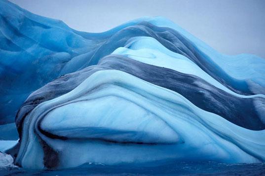 cool colored iceberg