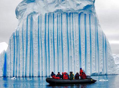 striped iceberg