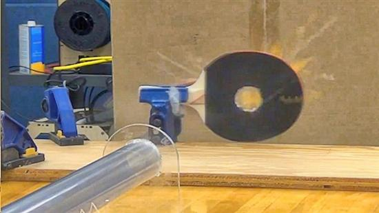 how to build a supersonic ping pong gun
