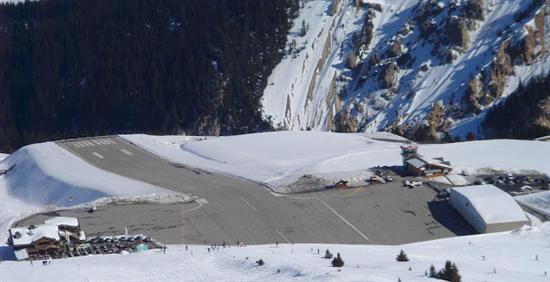 Courchevel Airport France