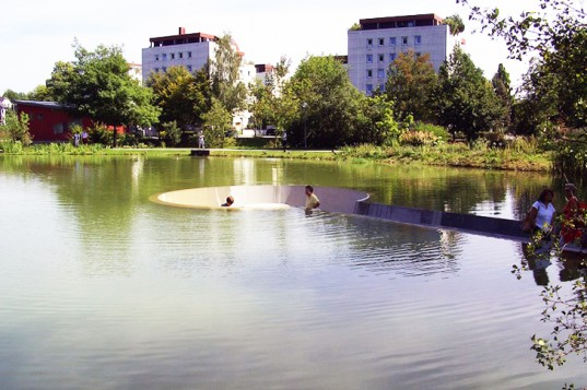 Vocklabruck lake platform 1