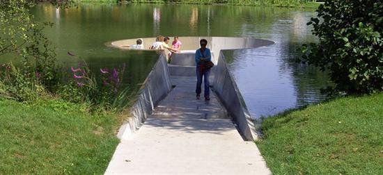 Vocklabruck lake platform 2
