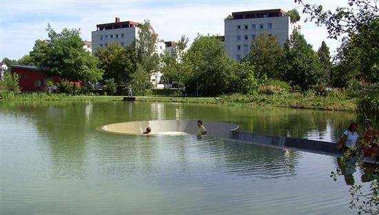 Vocklabruck lake platform 3