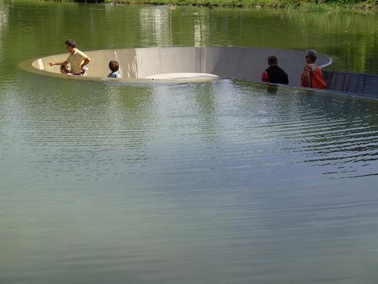 Vocklabruck lake platform 4