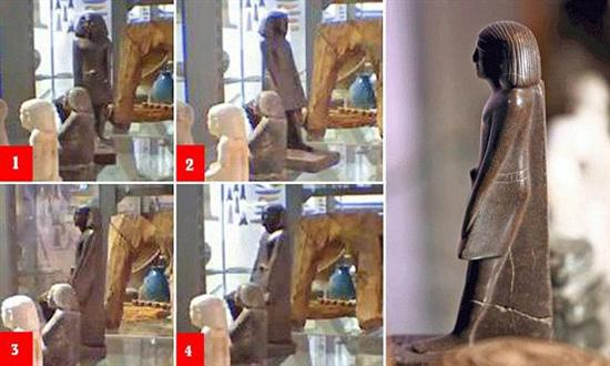 Egyptian Statue Moves 4