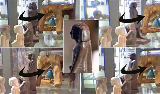 Egyptian Statue Moves 5