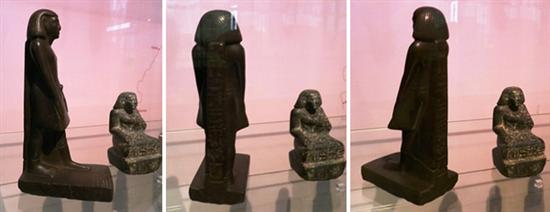 Egyptian Statue Moves 7
