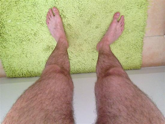 Weird Hairy Stockings 2