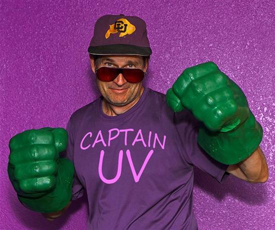 captain ultraviolet man sees in uv