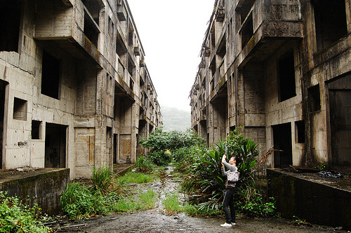 Abandoned cityofKeelungTaiwan