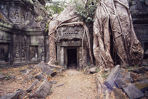 Angkor Wat Cambodia 10 of the Coolest Abandoned Places In The World as seen on CoolWeirdo.com