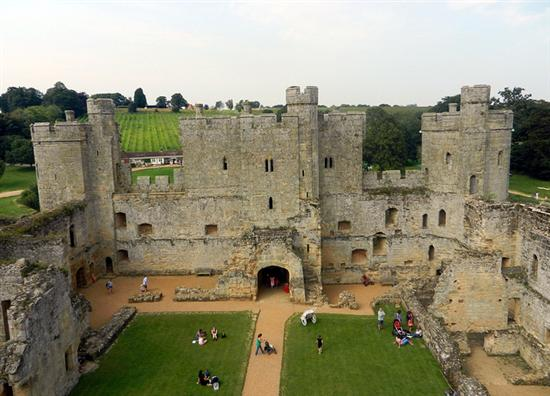 Bodiam Castle East Sussex England 1