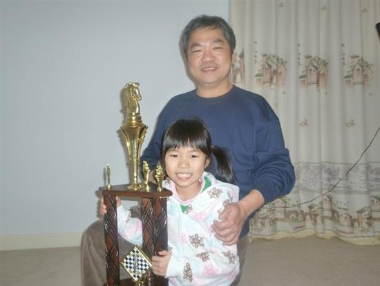 Carissa Yip youngest chess player7