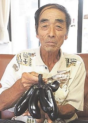 Fukushima mutant eggplant