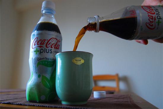 Green Tea Coke 2