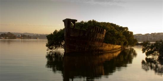 SSAyrfield Homebush Bay Australia 10 of the Coolest Abandoned Places In The World as seen on CoolWeirdo.com