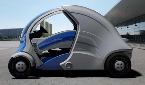 ArmadilloT electricfolding car 4
