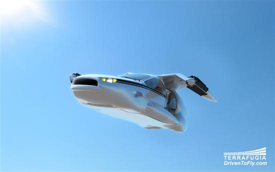 Terrafugia flying car 1