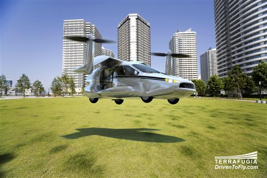 Terrafugia flying car 2