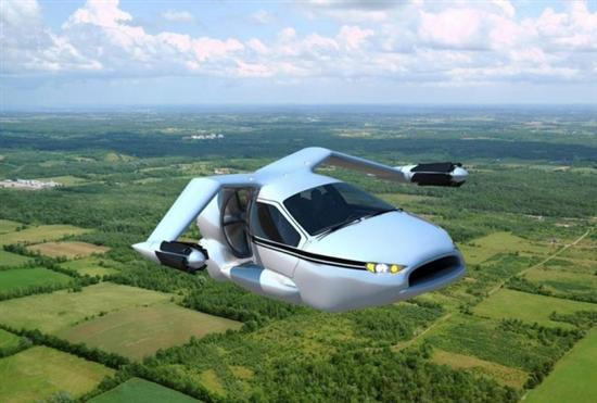 Terrafugia flying car 4