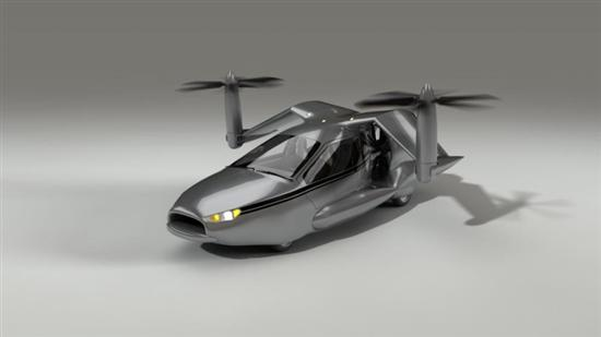 Terrafugia flying car 6