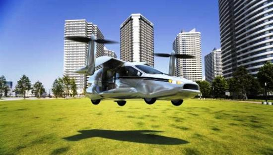 Terrafugia flying car 7