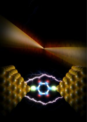 atomic scale heat dissipation