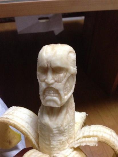 cool banana sculpture 2