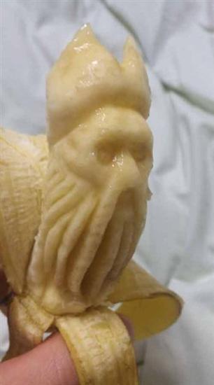cool banana sculpture 3
