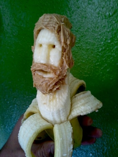 cool banana sculpture 5